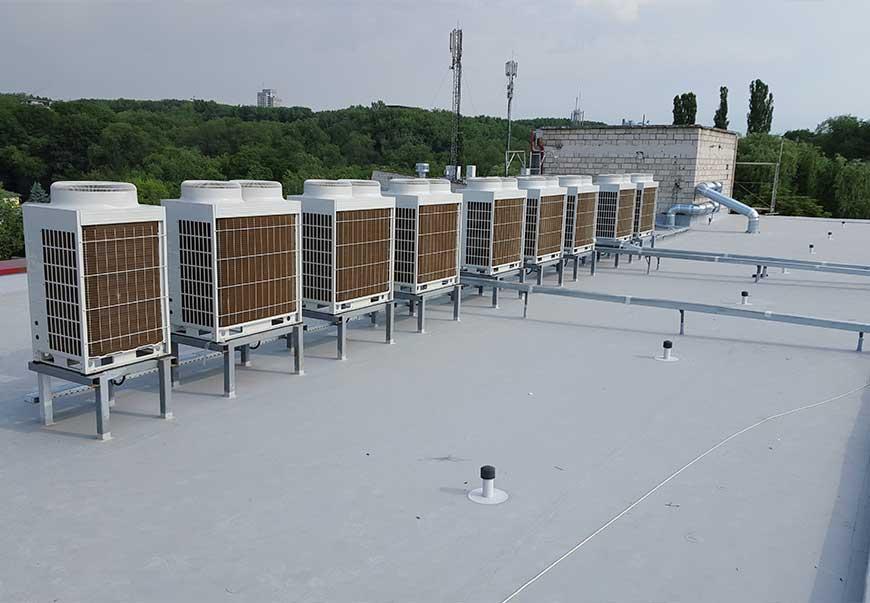 Проектирование и монтаж систем кондиционирования VRF (VRV) в Молдове